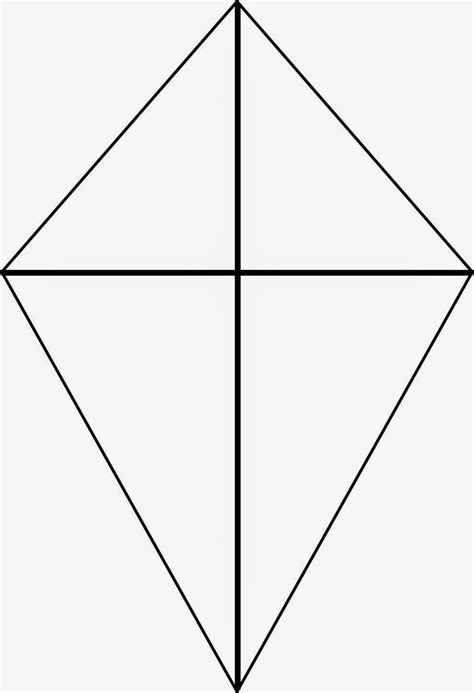 Kite Outline by Coloring Page Abc Blocks1 Kite Coloring Page Kite Coloring Pages 5