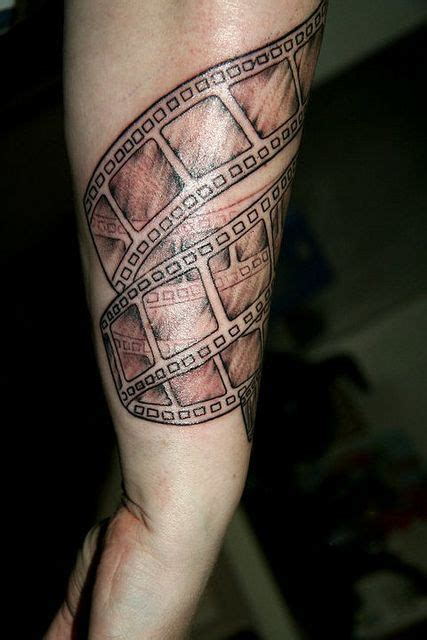 film strip tattoo 41 cinema tattoos