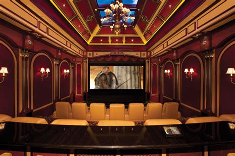 home theater design king systems llc lavish 2 story home theater in the cayman islands homes