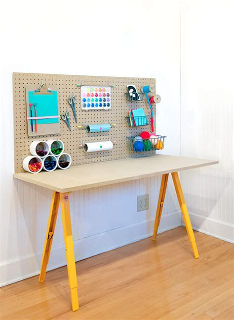 Craft Desk Diy 10 Diy Desks For Craft And Studying Shelterness