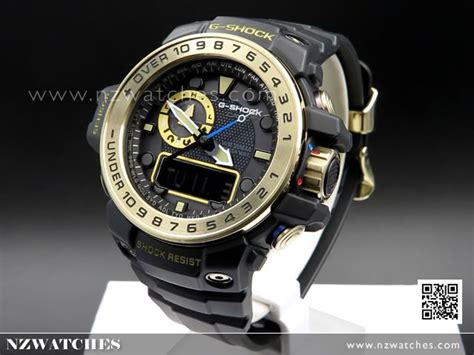 G Shock Gwn1000 Black Gold buy casio g shock gulfmaster solar black gold multiband 6