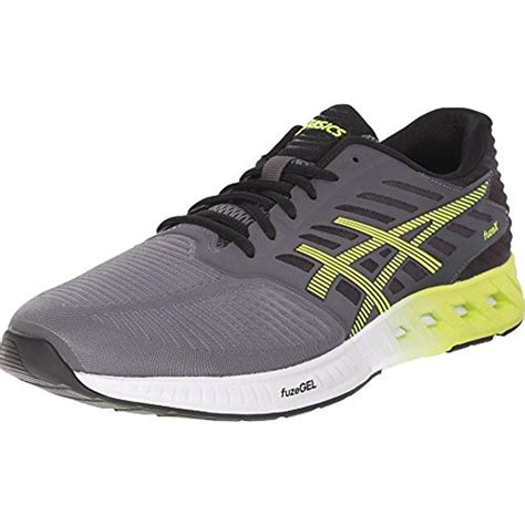 mesh athletic shoes asics 5895 mens fuze x mesh colorblock athletic running