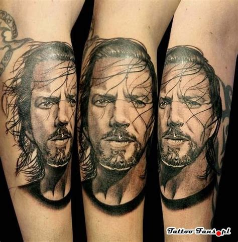eddie vedder tattoo eddie vedder pearl jam the o jays