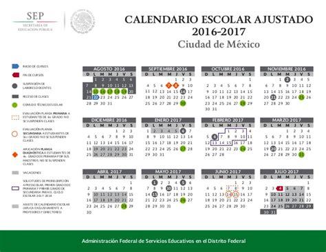 diario oficial calendario escolar 2016 2017 calendario oficial 2016 2017