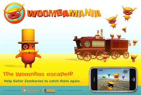 Woo Mba by 3d Mobile Ar Woomba Mania Hoppala