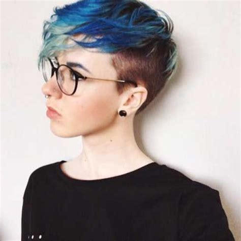 20 shaved hairstyles for women side shave short short shaved sides hairstyles fade haircut