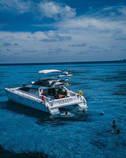 rent a catamaran in cozumel boat rental cozumel yacht charter click boat