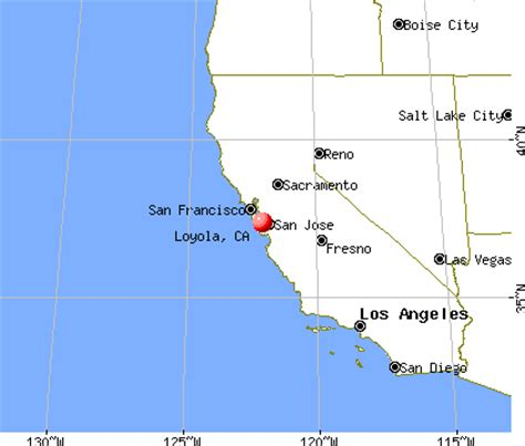 Loyola Mba Demographic by Loyola California Ca 94024 Profile Population Maps