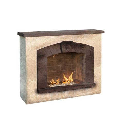 stone gas fireplace outdoor greatroom stone arch outdoor gas fireplace new ebay