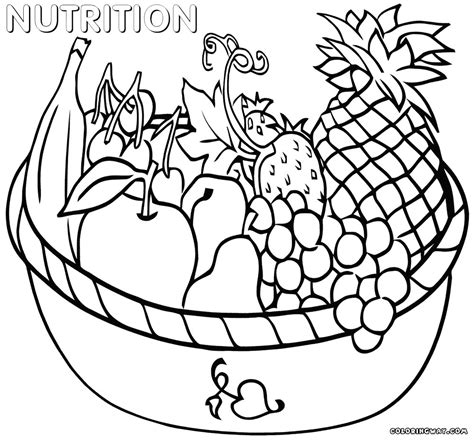 nutrition alphabet coloring pages healthy habits coloring pages gulfmik b2ddd3630c44