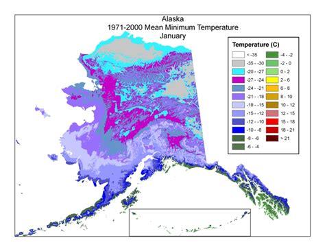 us temperature map alaska climate change denali national park preserve u s