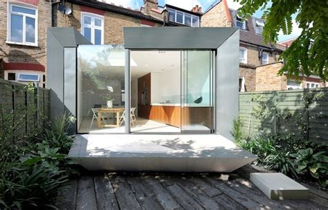 modern   stylish edwardian terrace house extension