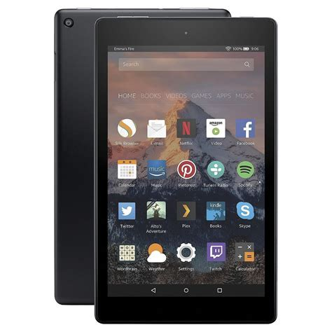 amazon kindle fire amazon kindle fire hd8 5th generation 8 quot tablet 16gb