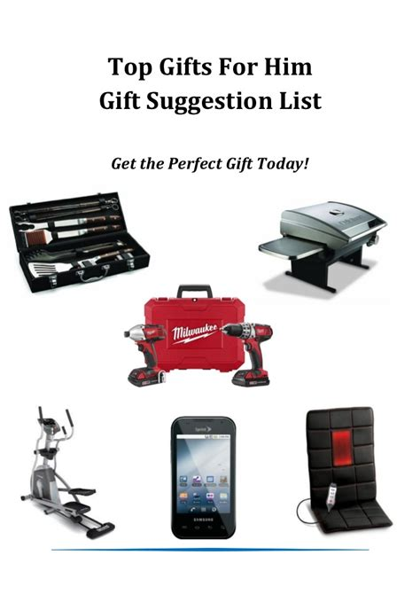 top gifts for him amazon gift suggestions list