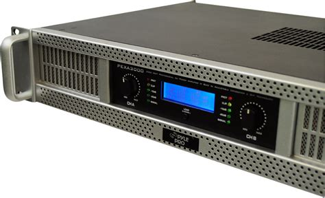 Power Lifier 3000 Watt pyle pexa3000 19 quot rack mount 3000 watt professional power lifier ebay
