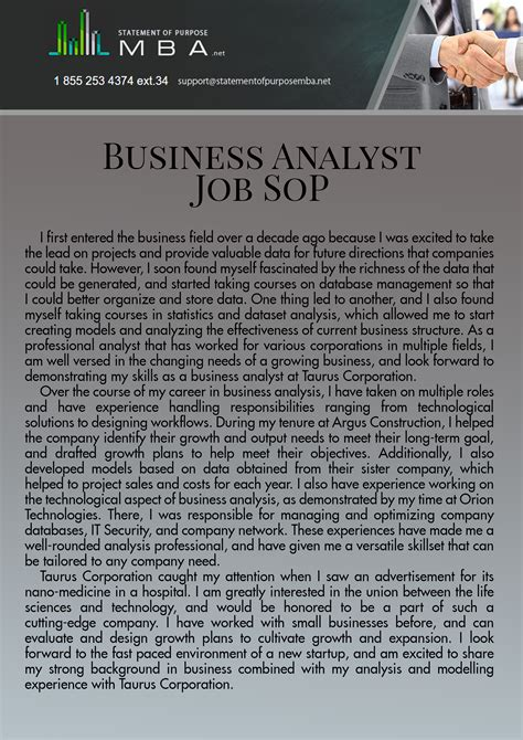 Business Letter Purpose sle statement of purpose for consulting cover