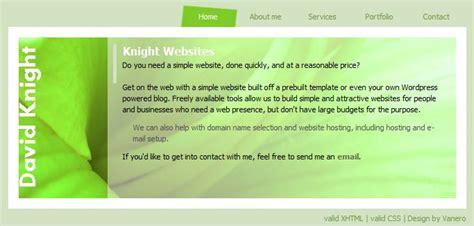 launch announcement of knight websites knightwebsites com