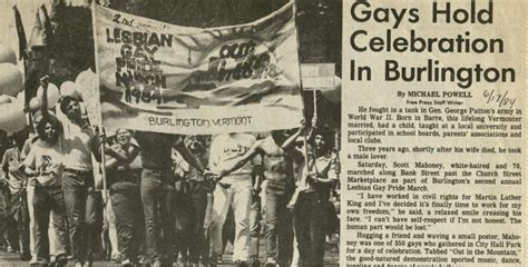 early lives a contrast between bernie sanders and hillary 32 years before scotus decision sanders backed gay pride