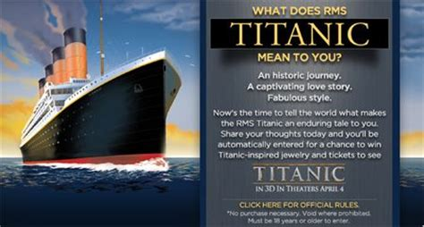 What Does Sweepstakes Mean - titanic 100th anniversary sweepstakes