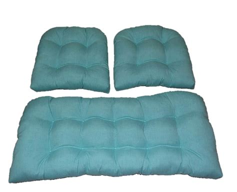 settee cushion set outdoor settee cushions set of 3 clearance home design ideas