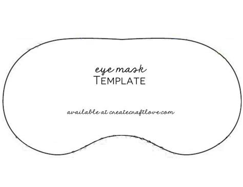 Sleeping Mask Card Template 19 best sleep masks images on sleep mask eye