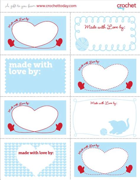 printable knitting tags 34 best images about knit crochet care labels on