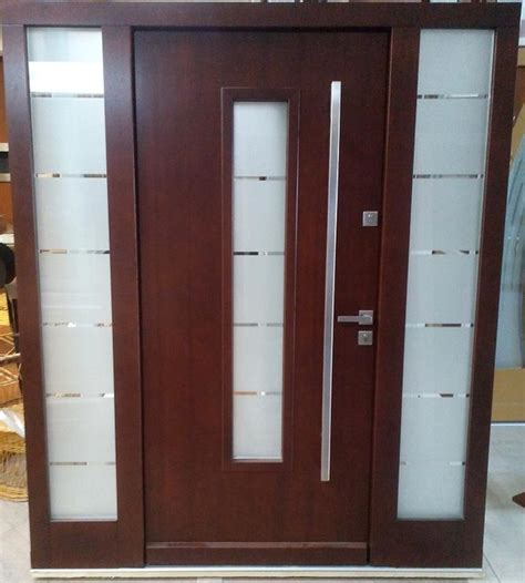 contemporary front doors with sidelights model 026 modern front entry door w 2 sidelights size w