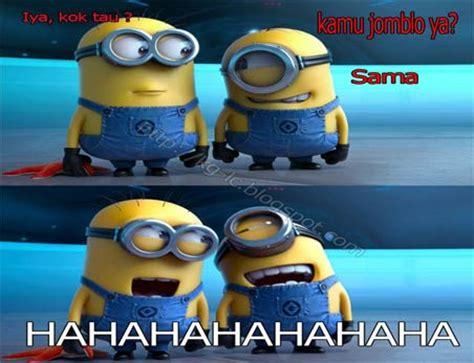 kumpulan gambar lucu minion jomblo