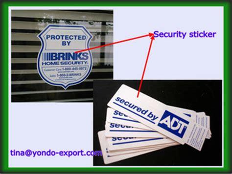 adt security sticker buy adt security sticker 0 12mm