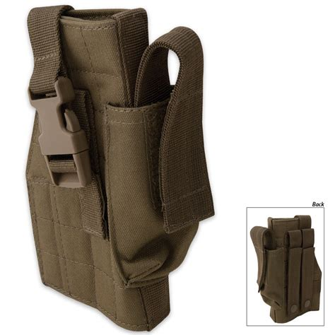 voodoo tactical holster voodoo tactical molle holster with mag pouch budk