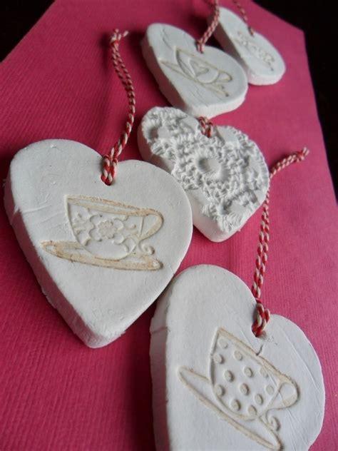 clay hearts   sculpt  clay heart molding  cut