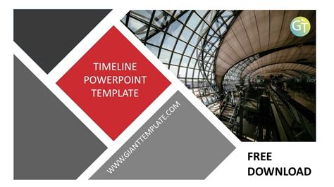 Timeline Powerpoint Template Free Download 20 Slide Youtube Free Powerpoint Templates Downloads