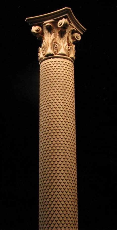 Column   Full Round   Scales and Acanthus Capital