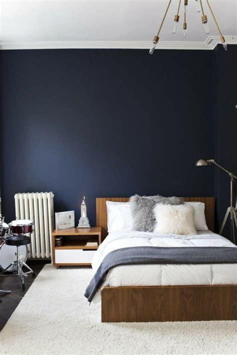 blaues schlafzimmer d 233 co chambre bleu calmante et relaxante en 47 id 233 es design