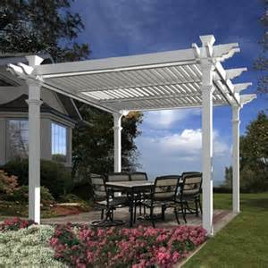 Home Designer Pro Pergola New England Arbors Va42062 Avalon Louvered Pergola Lowe