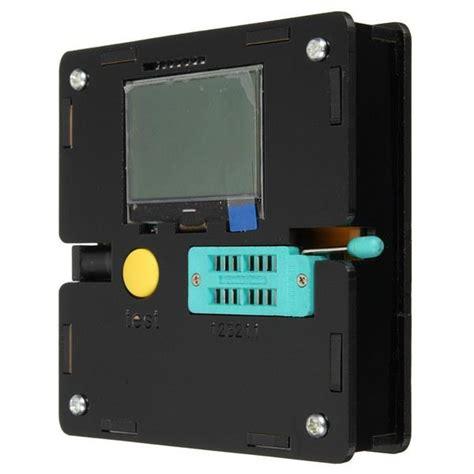 diy simple capacitor tester diy m328 transistor tester lcr diode capacitance esr meter sale banggood
