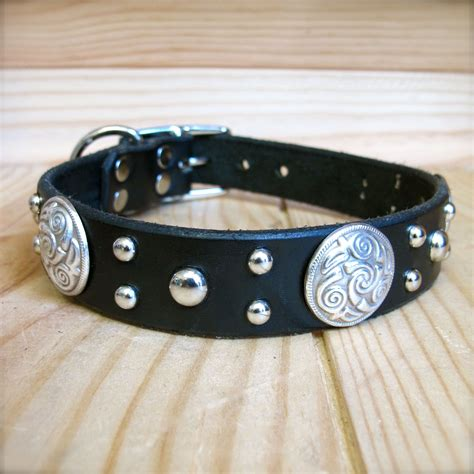 custom leather collars celtic paco collars custom leather collars