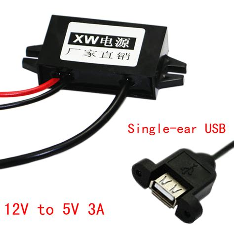 new buck 12 new buck converter voltage regulator 12v to 5v3a usb car