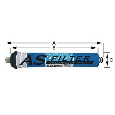 Membran 50 Gpd membrane osmoseur 50gpd asfilter www asfilter es