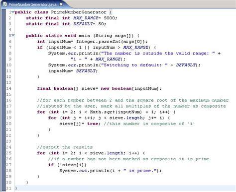 Jasa Setting Start Up Progran Otomatis using coverage to test a prime number generator program