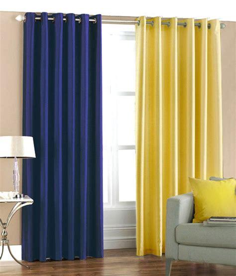 plain blue eyelet curtains flano plain eyelet curtain 10feet set of 2 royal blue