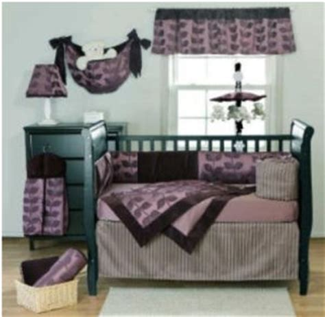 purple elephant crib bedding baby girl room tattoo pictures to pin on pinterest