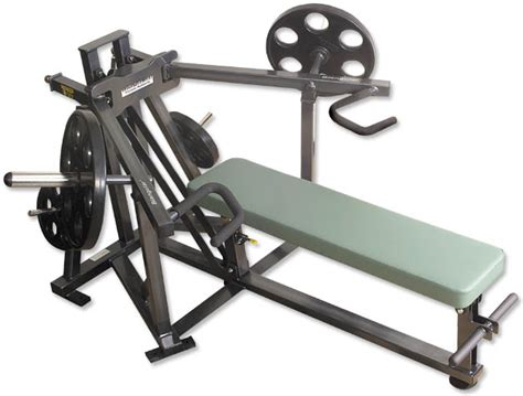 supine bench press machine magnum plate load supine bench press green sandstone