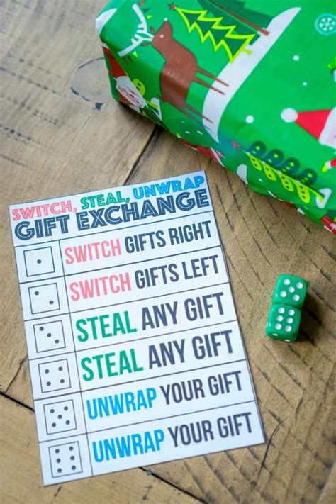 switch steal unwrap gift exchange the 11 best the eleven best