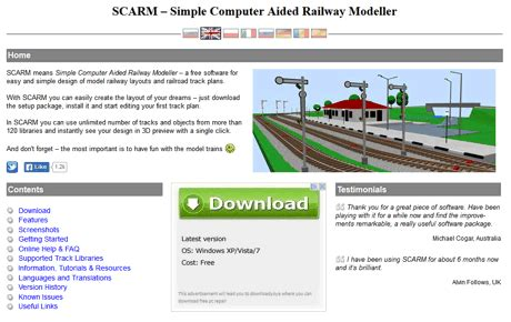 track layout software mac scarm layout software update