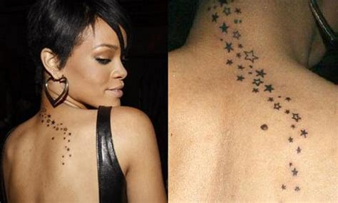 49 nice star neck tattoos