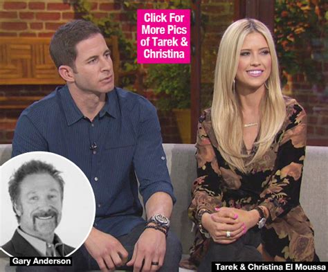 why did tarek and christina split gary anderson christina el moussa dating did she fall