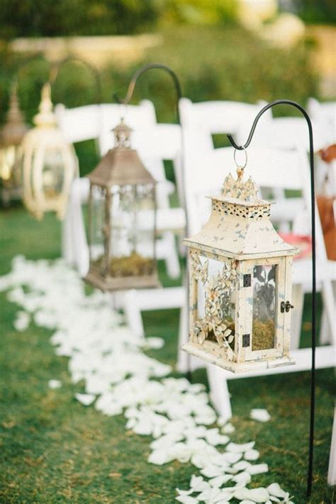 Wedding Aisle With Lanterns by Best 25 Lantern Wedding Decorations Ideas On