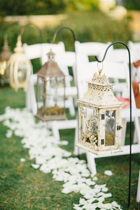 27 Creative Lanterns Wedding Aisle Decor Ideas   Creative