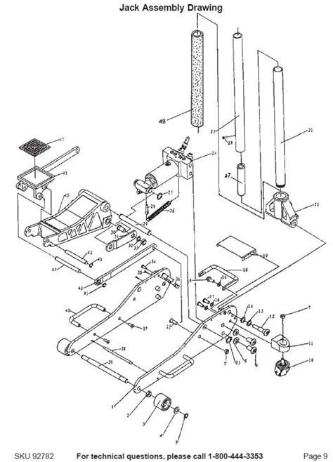 Hydraulic Floor Parts by Floor Hydraulic Circuit Diagrams Floor Free Engine
